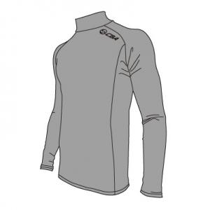 M47004NS_WINTER ハイネックロングTシャツ:クリアビューティアクティブのスポーツインナー