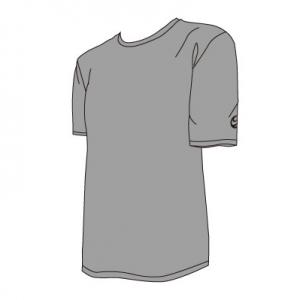 M47001HS _ALL ROUND 半袖Tシャツ 迷彩柄説明イラスト_M47001HS
