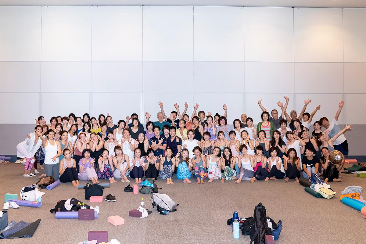 ヨガフェスタ横浜2019クラス2