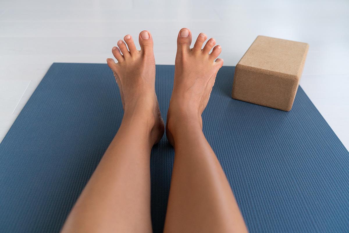 ランナー膝に足のストレッチ